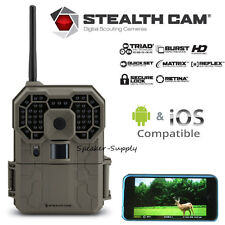 Stealth Cam GX45NGW Triad 12MP Wireless 1080P HD Game Camera iOS Android App IR