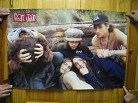 Pearl Jam Poster 2 Sided Band Shot Mosh Pit Vintage
