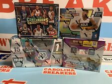 4 Box NBA RT Break 19/20 Panini Optic Contenders, Prizm Retail, & Mosaic Hobby