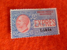 ITALY COLONIES LIBYA STAMP E18  30C USED