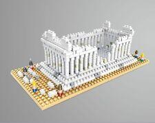 Nano block Famous buildings DIY Assembly model Greek Parthenon 557PCS/set NO BOX