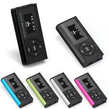 Metal Mini USB MP3 Player Media LCD Support 32GB Micro SD TF Musik Player 5Farbe