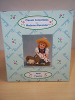Vintage Madame Alexander Heidi Figurine - 1999 - #90470 - Mint in Box