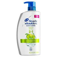 Head & Shoulders 2-in-1 Dandruff Shampoo + Conditioner Green Apple 43.3oz Pump