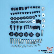 Complete Fairing Bolt Kit Body Fasteners Clip Screw For Suzuki GSX-R1000 2007-08