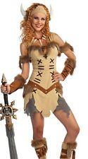 Viking Warrior Princess Costume Dress Sexy Adult Womens Female - Fast Ship -