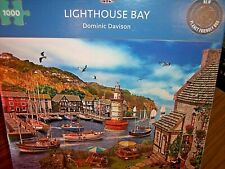 *LIGHTHOUSE BAY - HARBOUR* GIBSONS 1000 PIECES JIGSAW PUZZLE. NEW!