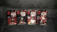 4 Star Wars Accessory Back Pack Set Star Wars Episode 1 Hasbro 1999 Collectable