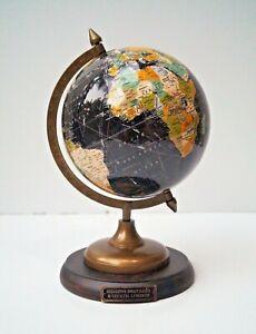 "Antique beautiful 8"" world globe map table home office globe ball decor gift"
