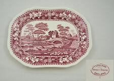 Spode - Pink Tower - Ovale Platte 32cm