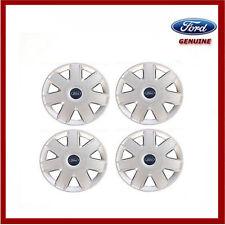 "Genuine Ford KA, Escort & Fiesta 13"" Wheel Trim Hub Cap x4. New 1486336"