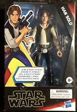 """2019 Hasbro Star Wars Galaxy of Adventures Han Solo 5"""" Scale Figure"""