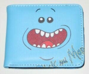 Rick And Morty MR. MEESEEKS Existence Is Pain Bi Fold Wallet With ID Slot
