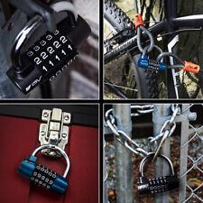 Bv Alloy Combination Padlock 5 Digit Safety Lock For Toolbox Closet Amp Gym Locker