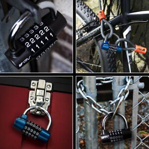 BV Alloy Padlock 5 Digit Combination Safety Lock for Toolbox Closet & Gym Locker