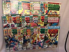 Shogun Warriors 1-20 Marvel Complete 1978 Series