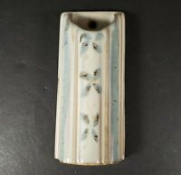 """Hand Crafted Bay Pottery Wall Pocket 5.5"""" x 2.5"""""""