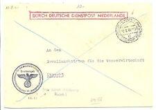 NEDERLAND 1944-8-12  DDP UTRECHT LOKAAL   @7
