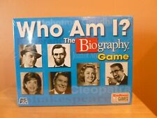 """Who Am I? The Biography Game A&E ~ *New Sealed Box"""""""