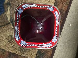 Budweiser Red light 22x22in