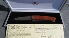 Nieto Spagna coltelli Damasco Coltelli Damasco Coltellino Coltello pieghevole 268111 NUOVO