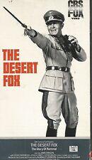 The Desert Fox (VHS TAPE) JAMES MASON AS ERWIN ROMMEL WW II FREE SHIPPING