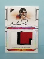 Matt Ryan 2008 National Treasures Rookie Patch Auto Autograph #22/99