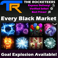 [PC] Rocket League Every Black Market Goal Explosion Neuro-Agitator etc.