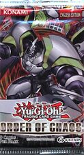 Order of Chaos New 1 Guaranteed Unsearched Sealed  Booster Pack YU-GI-H!