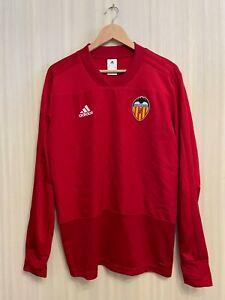 CF Valencia 2017/18 Size M Adidas football shirt jersey top soccer track jacket