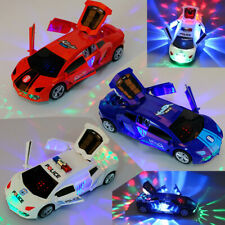 USA For Boys Girls Electric Car Toy Live Action Transforming Toy Deformation Car