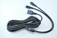 OMNIHIL 8 Feet Long High Speed USB 2.0 Cable Compatible with Mitsubishi Projector Model XD360U-EST