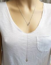 Hamsa Infinity Necklace Hand Silver Fashion Jewelry Layer Multi Charms Women
