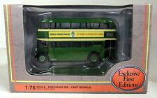 EFE 1/76 SCALA 16127 LEYLAND pd2 Highbridge LUGLIO & Dorset Bus Modello Diecast