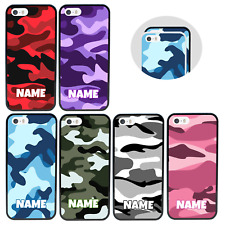 CAMOUFLAGE | Personalised Case for iPhone 5 5s SE 6 7 8 PLUS X XS 11 PRO MAX XR
