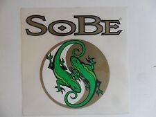 SoBe Energy Drink Lizard Sticker