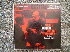Gilels Reiner Chicago Symphony Brahms Concerto No.2 RCA Victor Promo Fast Ship