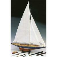 Amati Endeavour Yacht 1:80 Scale Model Plank on Frame Kit 1700/10