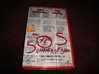 SOS  SUMMER OF SAM - JOHN LEGUIZAMO & MIRA SORVINO - RATED R - RARE  VIDEO  VHS