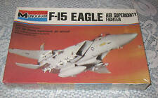 Vintage Monogram Kit F-15 Eagle 1977  U.S. Air Force Sealed FREE SHIPPING
