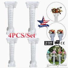 4pcs/Set White Plastic Wedding 39