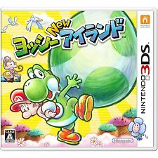 Nintendo 3DS Japan New Yoshi's Island Tracking Number from Japan Brand-new