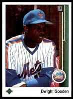 1989 UPPER DECK DWIGHT GOODEN NEW YORK METS #565