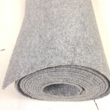 Horsebox Carpet Wall Lining Boat Liner 20sq Mtrs Roll (10m X 2m) Silver Grey RF