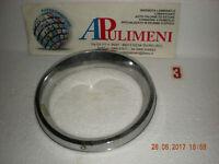 6585 CORNICE FARO SX PLASTICA CROMATA (HEADLIGTH RING TRIM) AUTOBIANCHI A112 E