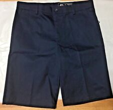 Slazenger Boys' School Uniform Shorts Navy Blue, Size Large,  ybu401