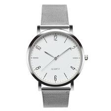 Womens Stainless Steel Watch Ladies Fashion Luxury Quartz Bracelet Wrist Watches