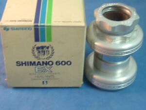 "Shimano 600 EX HP-6207 1"" Alloy Headset- NEW/NOS Vintage Road- Eng/Ital- NIB+"