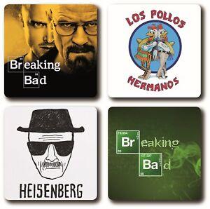 Breaking Bad 4 Piece Coaster Set
