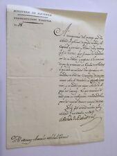 1809-cabarras, Franco OIS. un documento desde el Ministerio de Hacienda